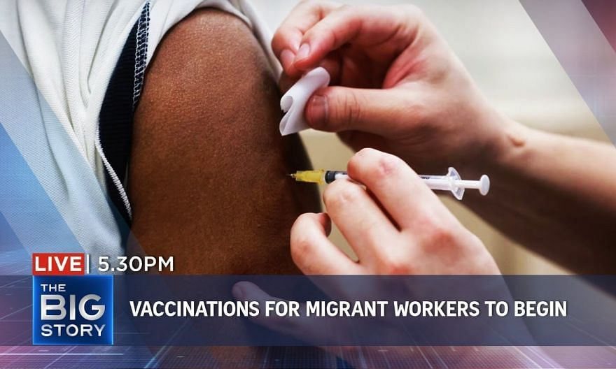 S'pore to start vaccination drive for migrant workers | THE BIG STORY