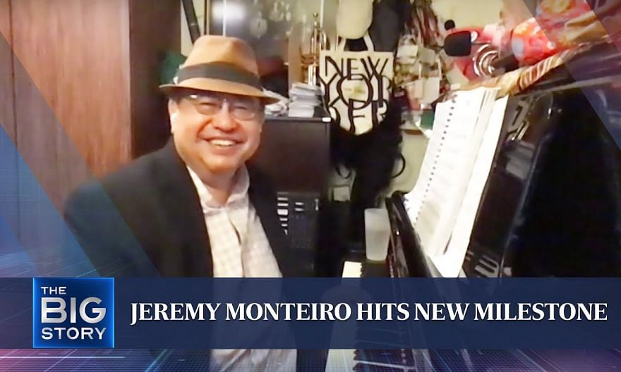 Jeremy Monteiro becomes first S'porean to break into US top 50 jazz chart   THE BIG STORY