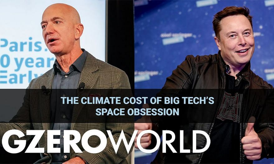The Climate Cost of Big Tech's Space Obsession | Author Elizabeth Kolbert | GZERO World