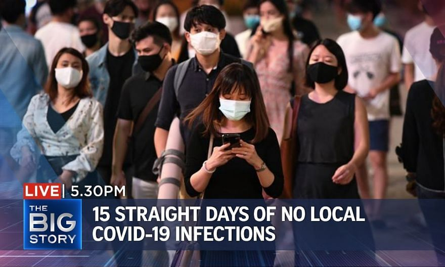15 straight days of no local covid-19 infections | THE BIG STORY