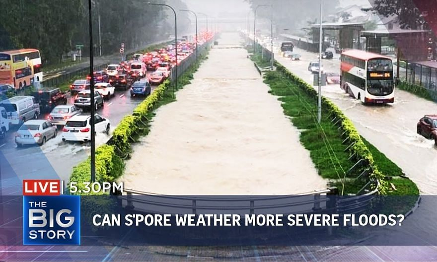 Weathering severe flooding; correspondent examines S'pore's anti-flood strategies | THE BIG STORY