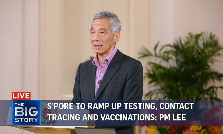 S'pore to ramp up testing, contact tracing and vaccinations: PM Lee | THE BIG STORY