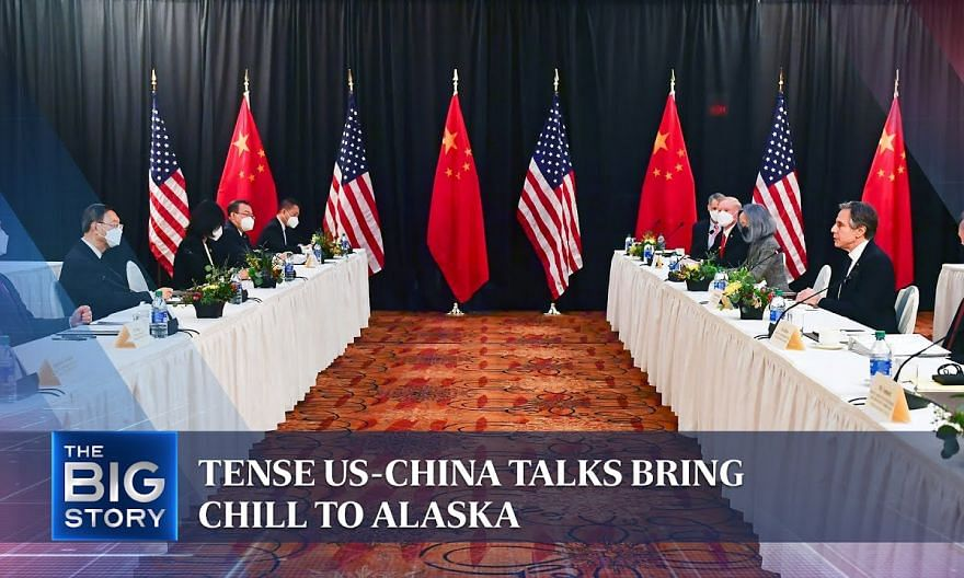 Tense US-China talks bring chill to Alaska   THE BIG STORY
