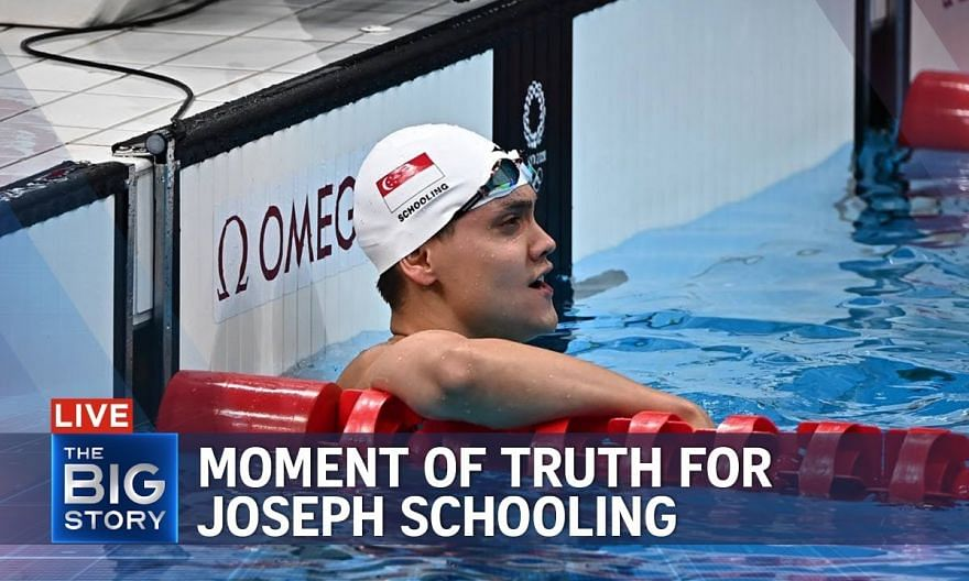 Moment of truth for Joseph Schooling as he begins Olympic defence   THE BIG STORY