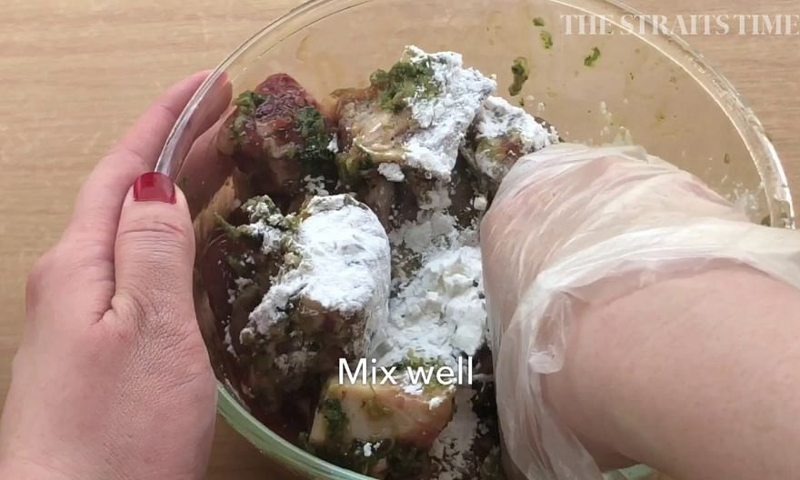 How to make Kraduk Moo Tod, Thai-style fried pork ribs