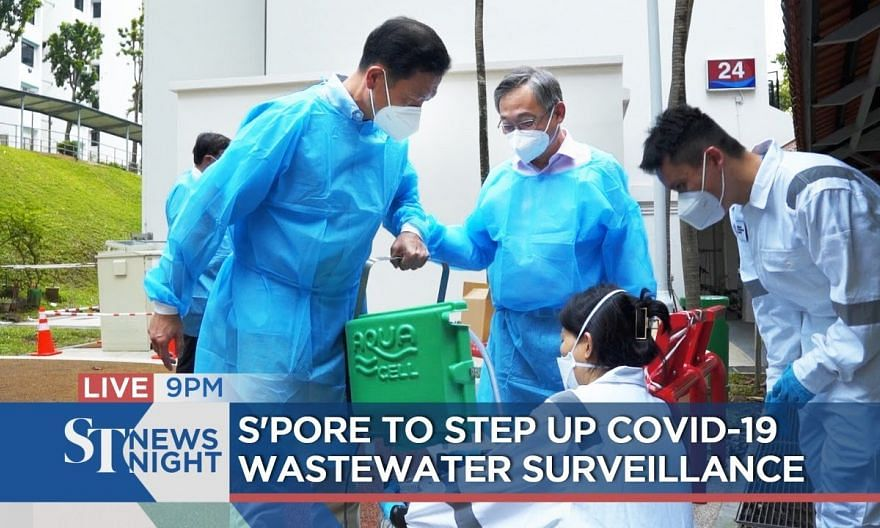 S'pore to step up Covid-19 wastewater surveillance | ST NEWS NIGHT