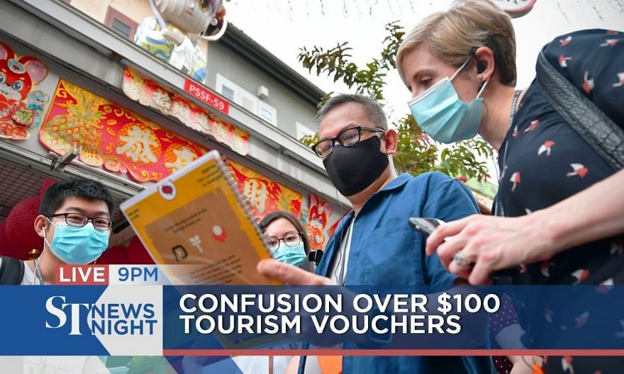 Confusion over $100 tourism vouchers | ST NEWS NIGHT