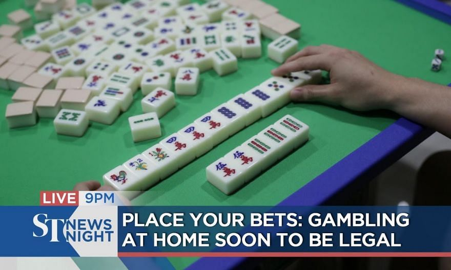 Place your bets: Gambling at home soon to be legal | ST NEWS NIGHT