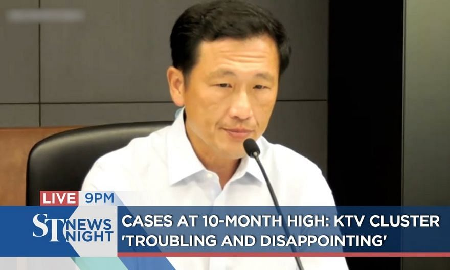 """Cases at 10-month high: KTV cluster """"troubling and disappointing"""" 