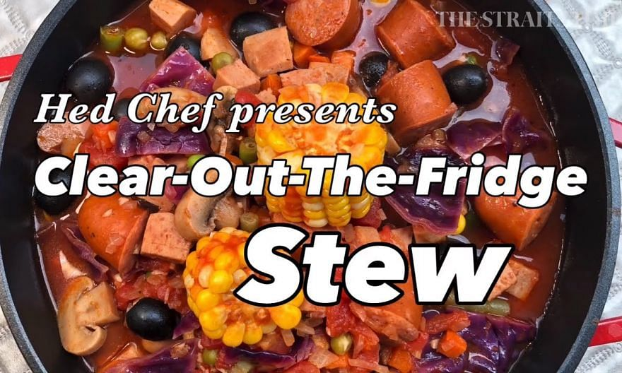 How to make Clear-Out-The-Fridge Stew | Hed Chef | The Straits Times