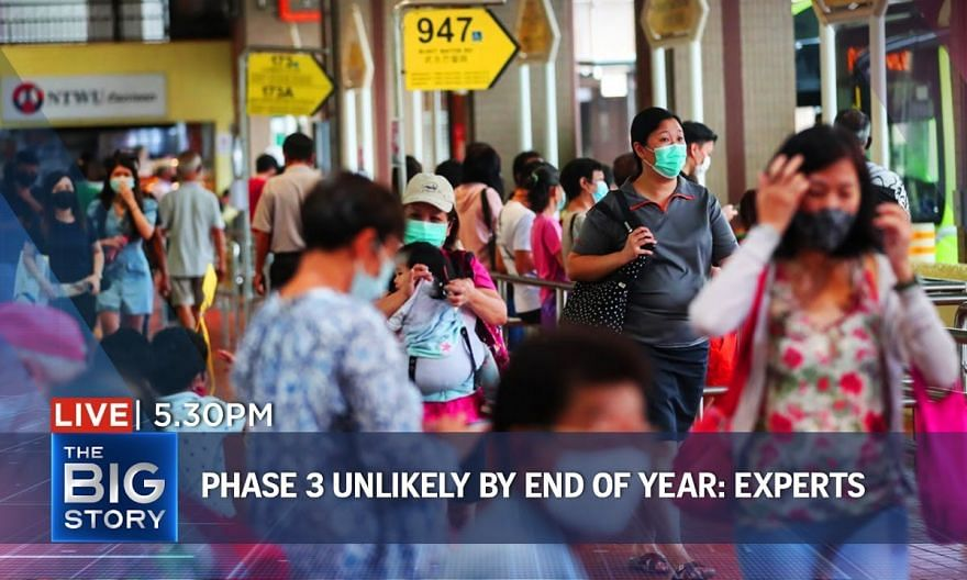 Phase 3 unlikely by end of 2020, due to TraceTogether's low take-up rate: Experts | THE BIG STORY