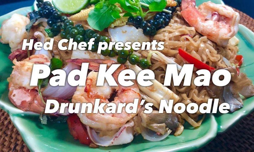How to make Pad Kee Mao