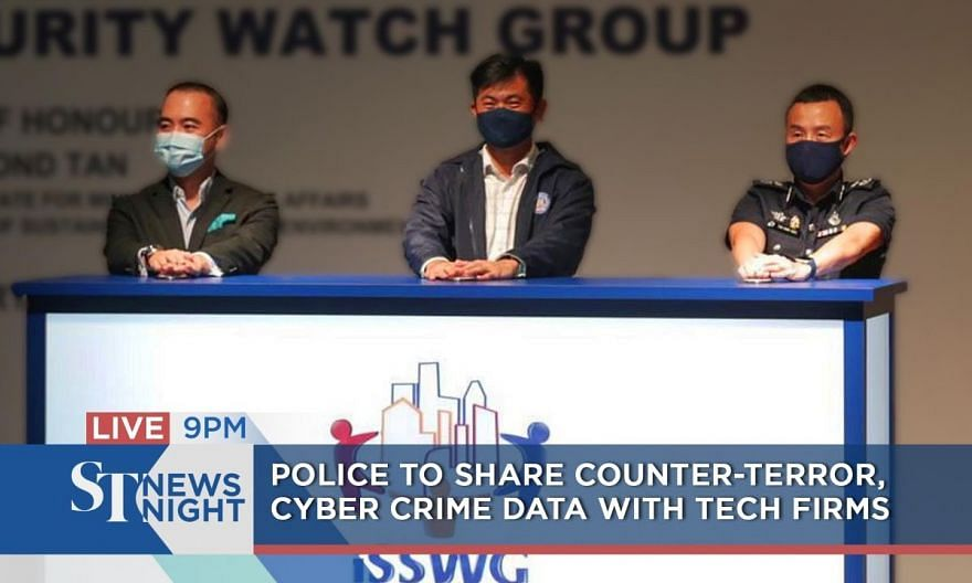 Police, tech firms join forces to counter threat of terrorism| ST NEWS NIGHT