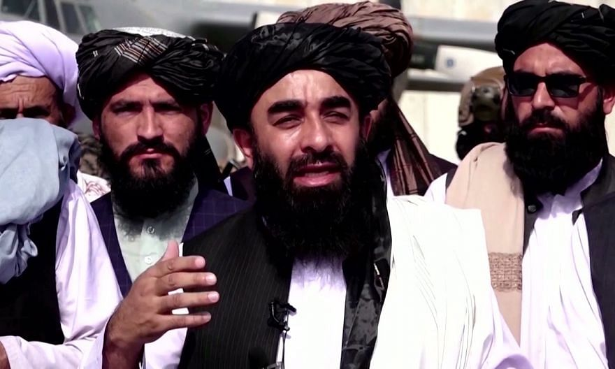 Taliban on the tarmac say they want 'good' US relations