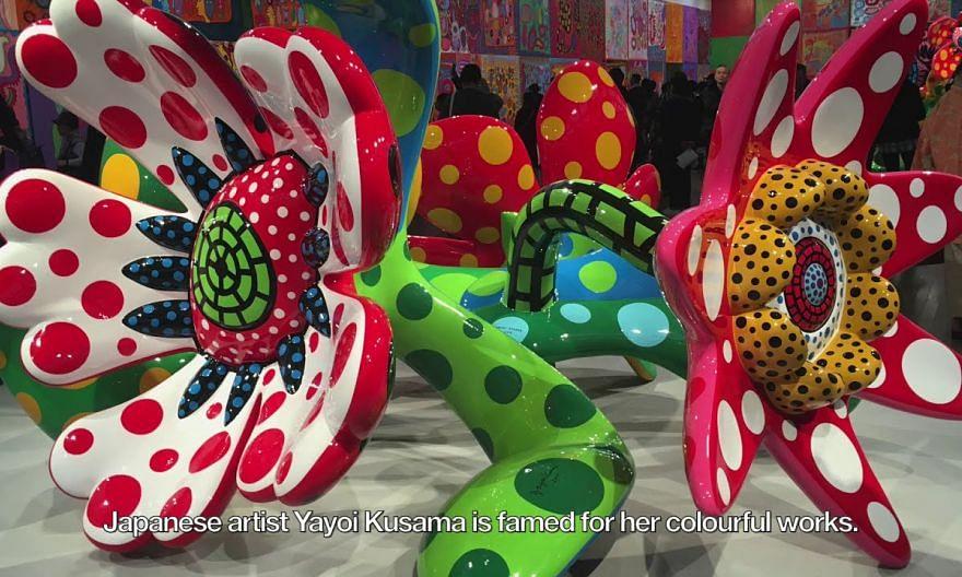Yayoi Kusama: Recent Paintings at Ota Fine Arts Singapore