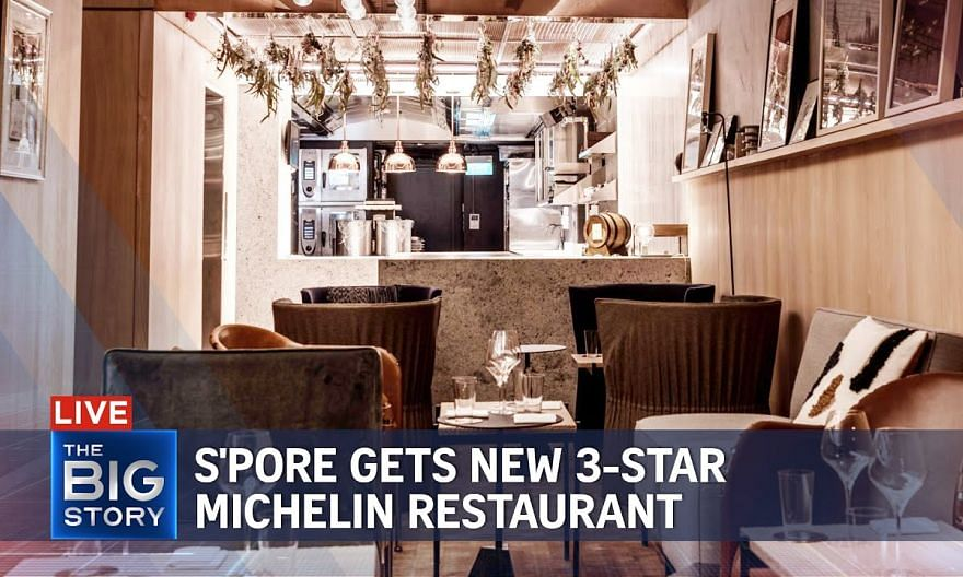 Singapore gets new 3-star Michelin restaurant | THE BIG STORY