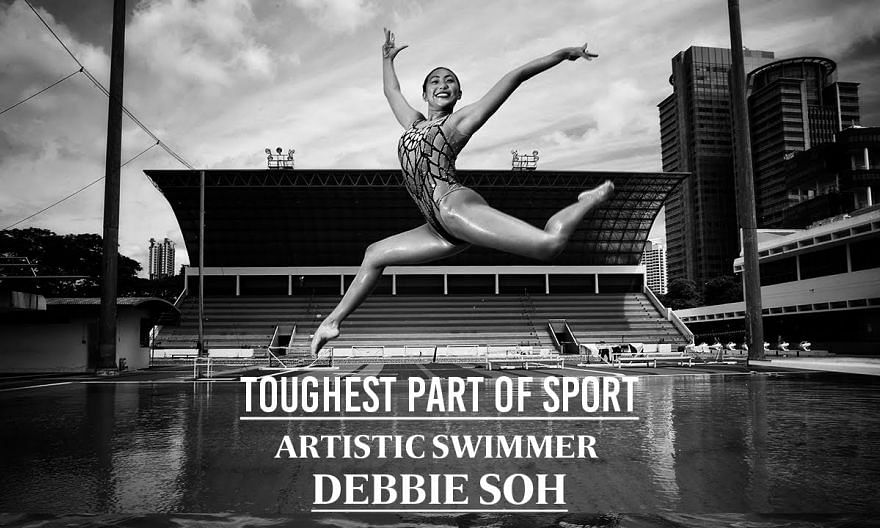The burden of weight | Artistic swimmer Debbie Soh | Toughest Part of Sport