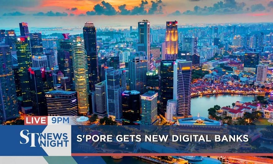 Grab-Singtel, SEA awarded digital full bank licences | ST NEWS NIGHT