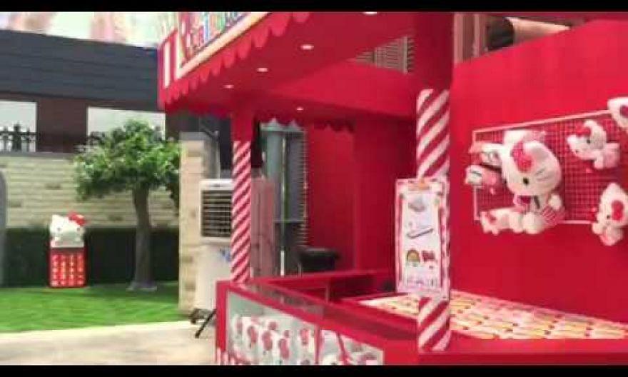 Quick tour inside Hello Kitty Go Around carnival