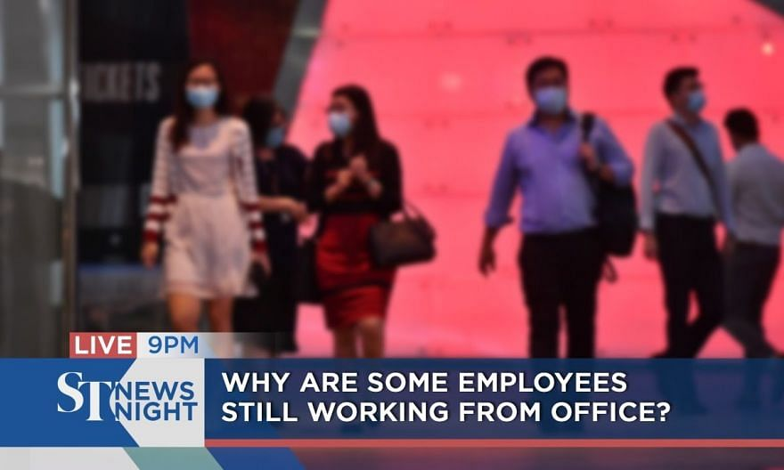 Why are some employees still working from office? | ST NEWS NIGHT