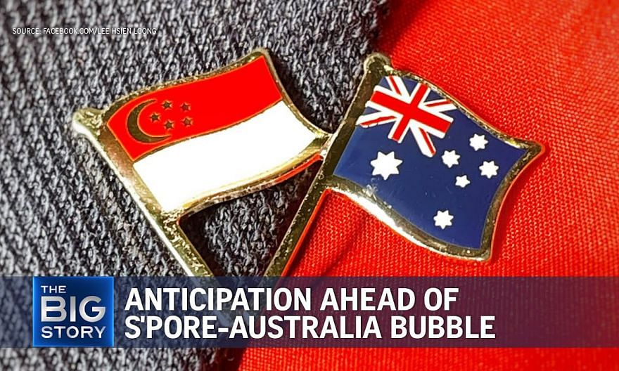 Anticipation ahead of planned Singapore-Australia travel bubble | THE BIG STORY