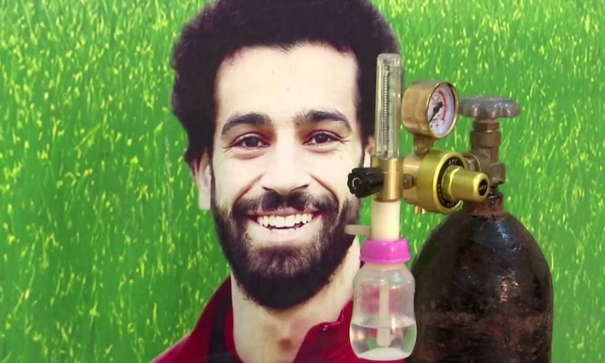 Liverpool's Mohamed Salah donates Covid-19 supply to hometown