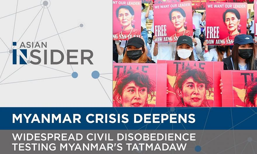 Widespread civil disobedience testing Myanmar's Tatmadaw or military | Asian Insider EP61