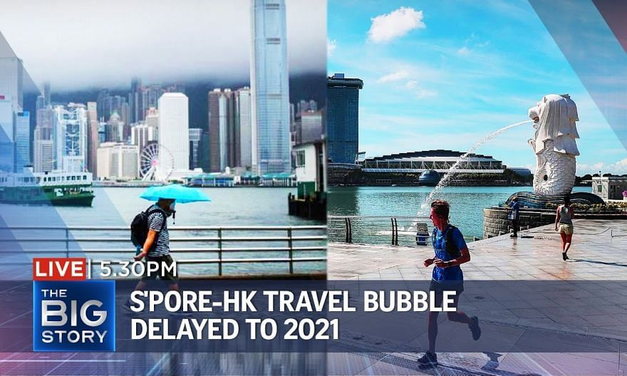 S'pore-HK travel bubble delayed to 2021; overspending amid year-end sales | THE BIG STORY