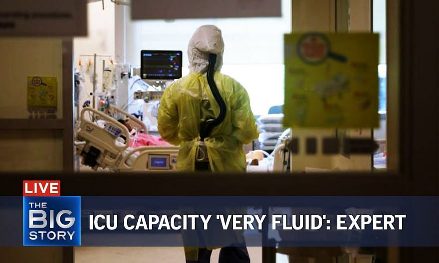 ICU capacity in hospitals 'very fluid', says expert | THE BIG STORY