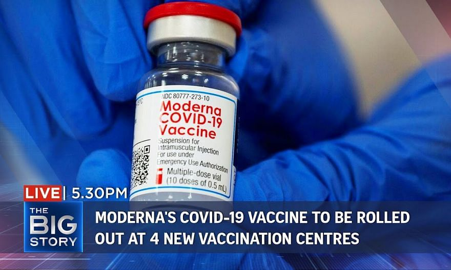 Moderna's Covid-19 vaccine to be administered at 4 new vaccination centres | THE BIG STORY