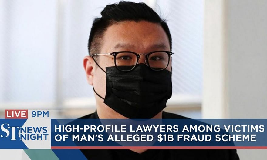 High-profile lawyers among alleged victims of man's $1b fraud scheme | ST NEWS NIGHT