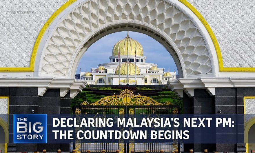 Countdown to declaring Malaysia's next PM: MPs must submit choice by Aug 18   THE BIG STORY