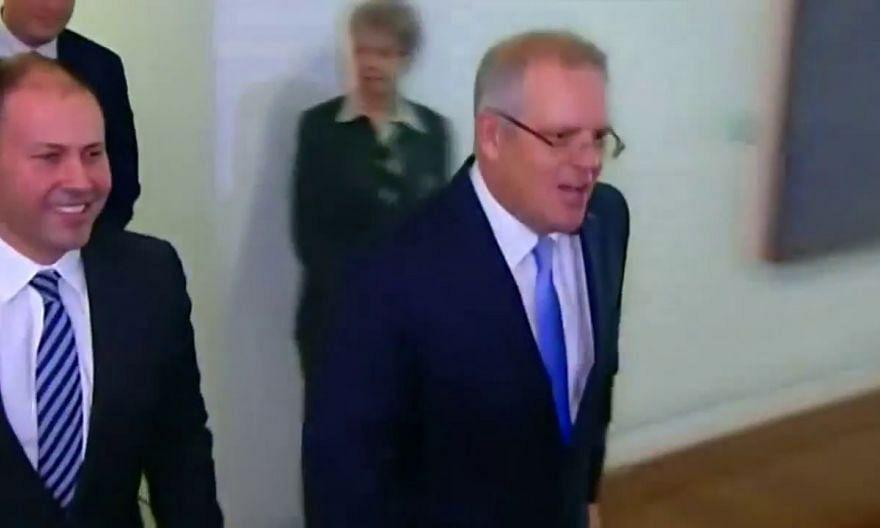 Scott Morrison wins vote to become Australian PM