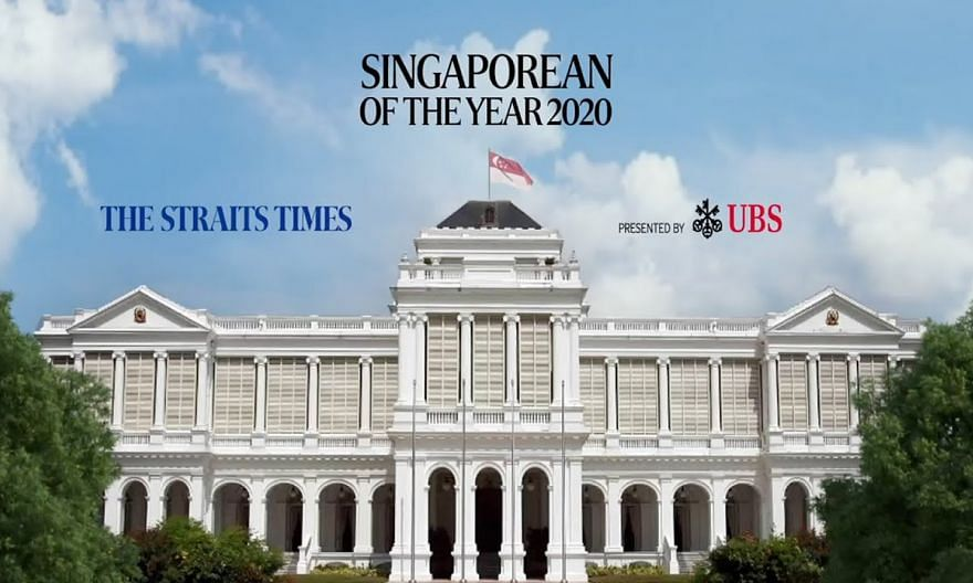 [LIVE] The Straits Times Singaporean Of The Year 2020 presentation ceremony