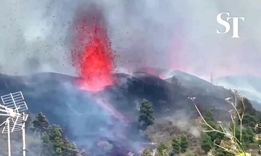 Volcano erupts on La Palma in Spanish Canary Islands