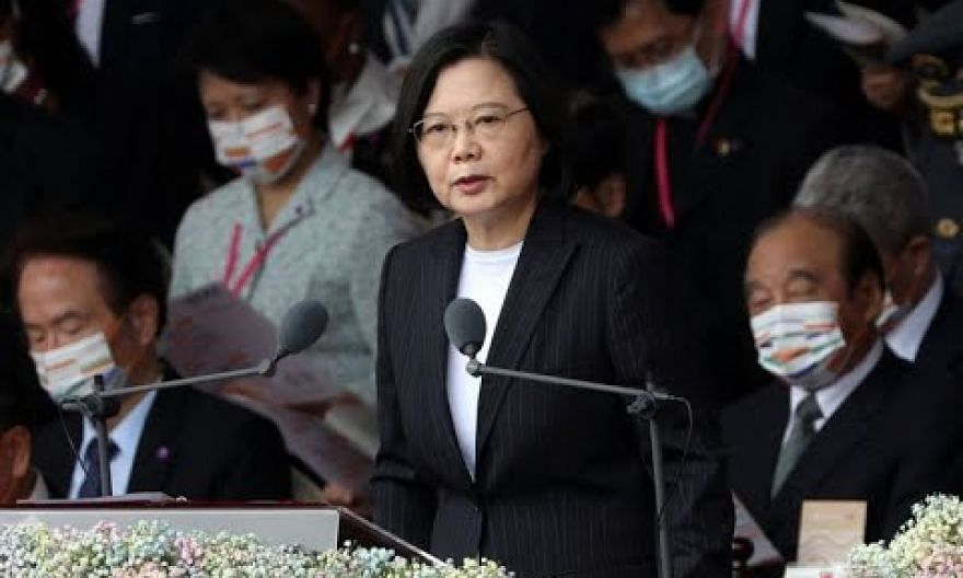 Taiwan president calls for 'meaningful dilaogue' with China