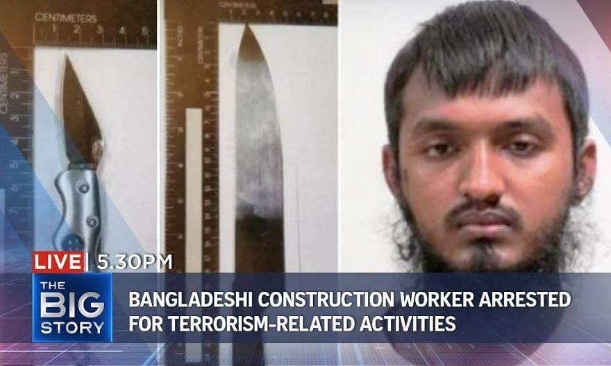 Bangladeshi construction worker arrested for terrorism-related activities | THE BIG STORY