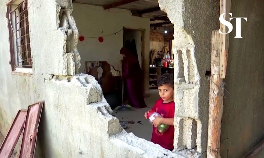 Israel bombs Hamas sites in Gaza