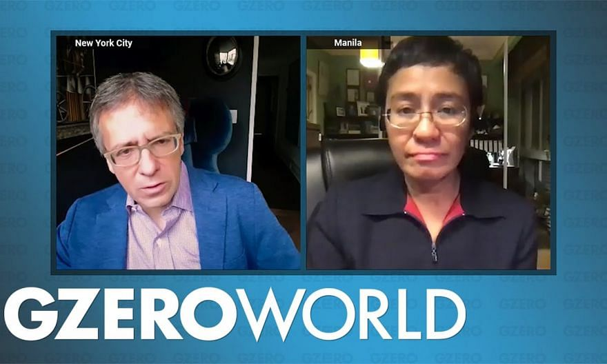 """Facebook Spreads """"Lies Laced with Anger and Hate"""" Faster Than Facts: Maria Ressa 