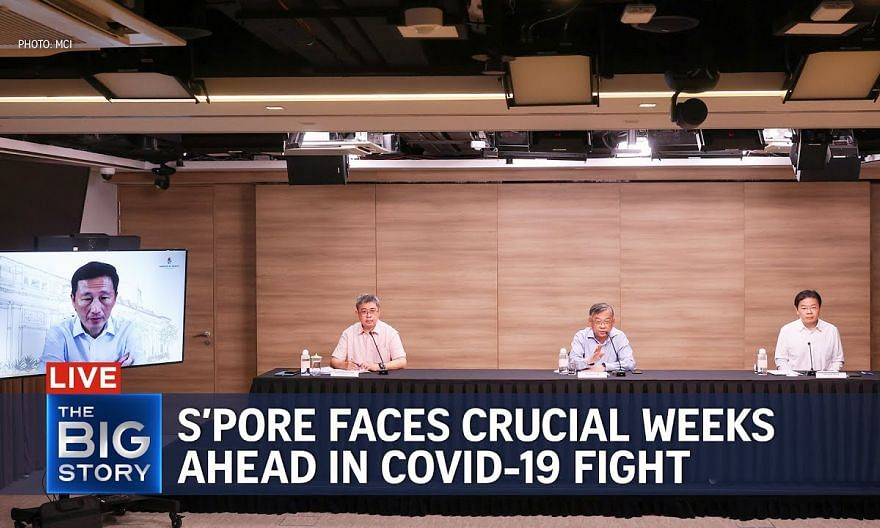 Crucial weeks ahead in S'pore's Covid-19 fight; daily cases likely to exceed 1,000   THE BIG STORY