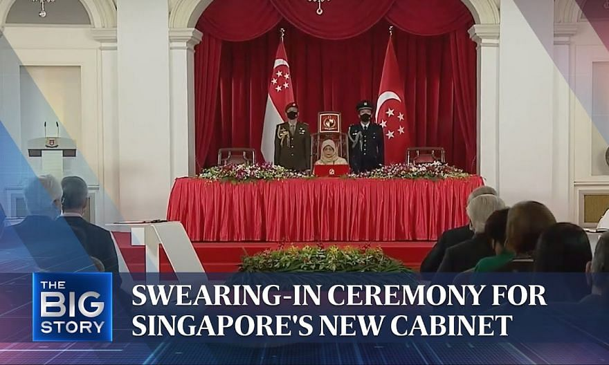 Swearing-in ceremony for Singapore's new Cabinet | THE BIG STORY