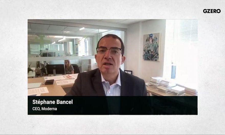 Moderna CEO on Vaccine Boosters Timeline, IP Waivers | Stephane Bancel | GZERO Media