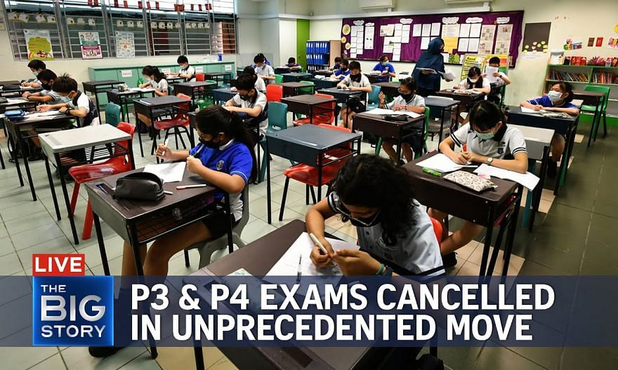 No P3, P4 year-end exams; primary schools to resume in-person classes next week   THE BIG STORY