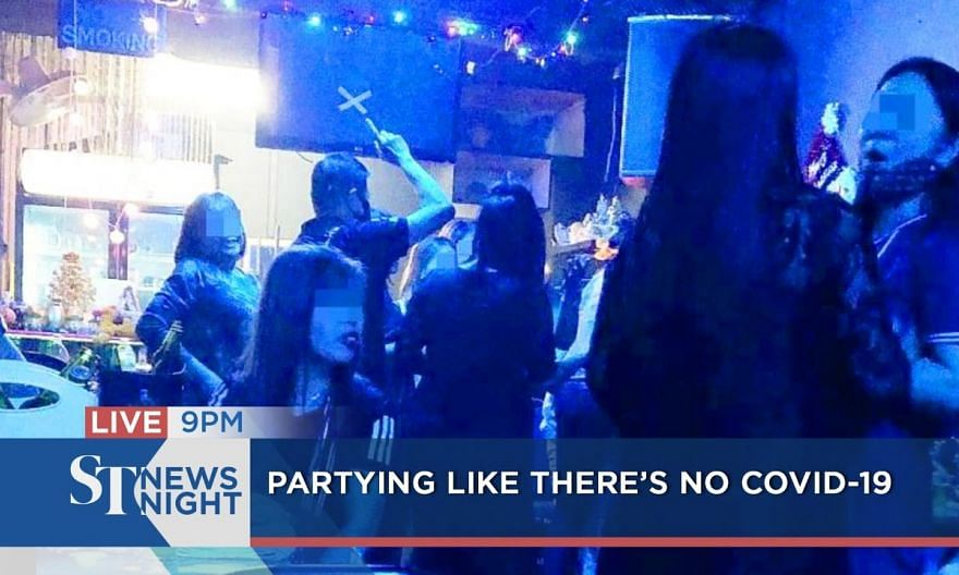 Some still partying like there's no Covid-19 | ST NEWS NIGHT