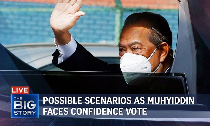 Muhyiddin faces confidence vote: ST's Malaysia bureau chief on possible scenarios   THE BIG STORY