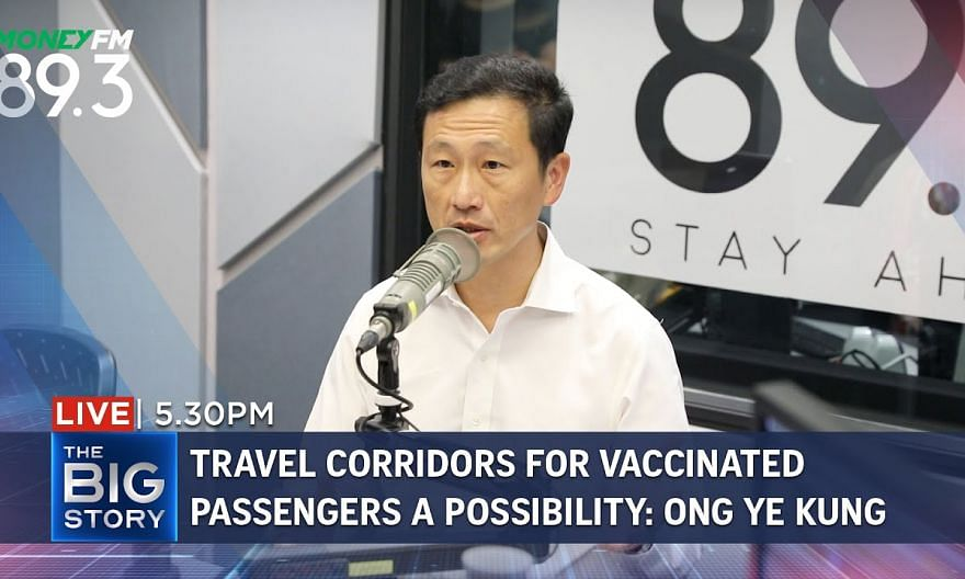 Travel corridors for vaccinated passengers may happen in second half of 2021 | THE BIG STORY