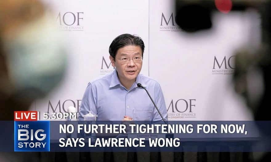 Likely no need to further tighten Covid-19 rules for now, says Lawrence Wong   THE BIG STORY