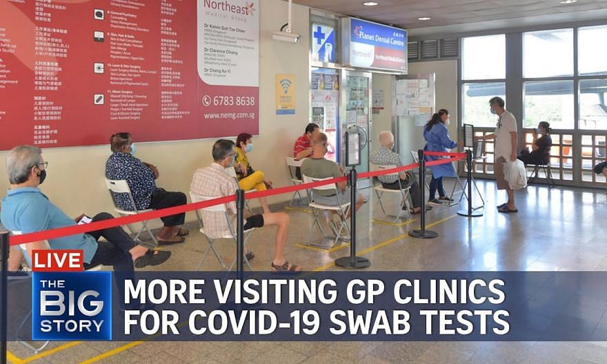 More visiting GP clinics for Covid-19 swab tests as Singapore's daily cases climb | THE BIG STORY