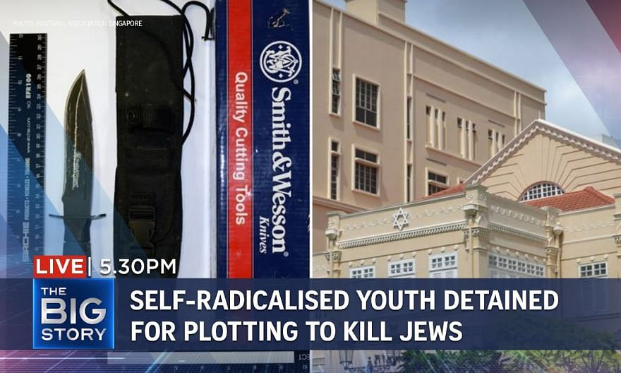 Self-radicalised S'porean youth detained for plotting attack on synagogue | THE BIG STORY
