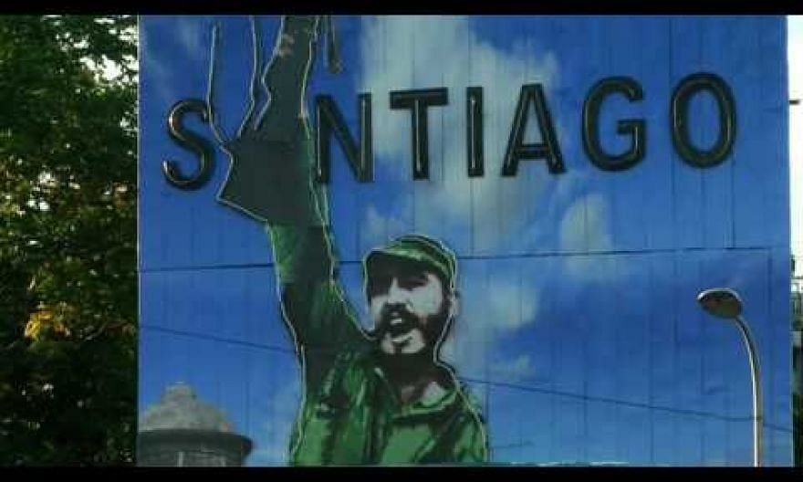 A solemn morning to say goodbye to Cuba's Fidel Castro